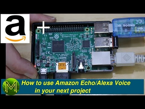 How to use Amazon Echo/Alexa in your next project