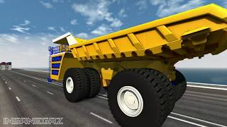 Most Vehicles Destroyed in BeamNG Drive - Stressed Out #9 - Insanegaz
