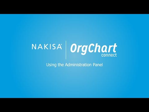 OrgChart Connect Admin User Guide