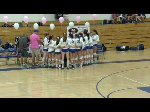 Palo Alto Vikings vs Los Altos Eagles - Varsity Volleyball, October 13. 2016