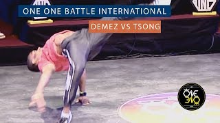 Demez vs Tsong | Eight Finals | ONE ONE BATTLE INTERNATIONAL 2019