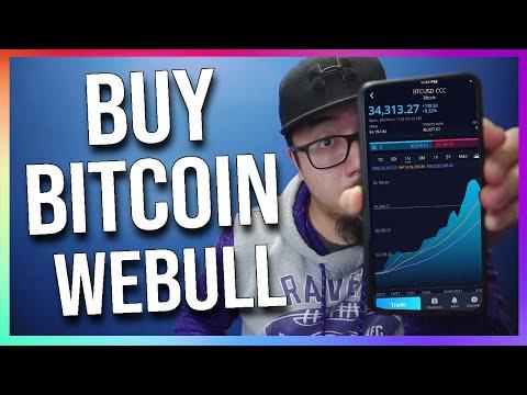 How To Buy Bitcoin On WeBull App (Crypto On WeBull)