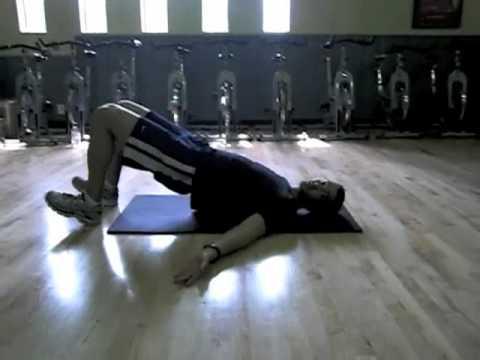 Trainer Josh Fixes Low Back Pain: Hip Bridge Progressions