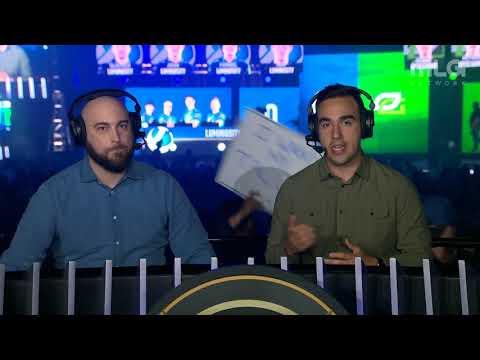 OpTic Gaming  vs Luminosity | CWL Anaheim 2018 | Day 2