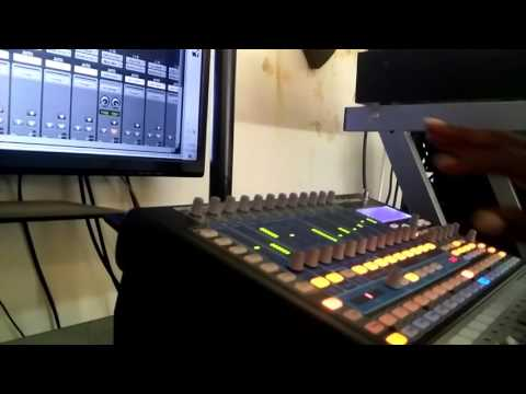 Recording and mixing with studio Live 16.0.2 and protools 12.4