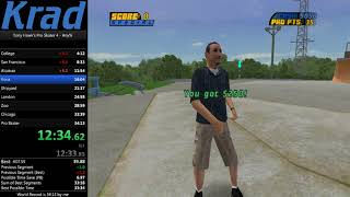 THPS4 Any% World Record in 33m 49s.