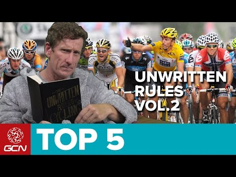 The Unwritten Rules Of Cycling - Vol. 2