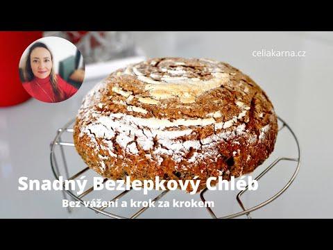 Nejjednodušší chléb bez lepku