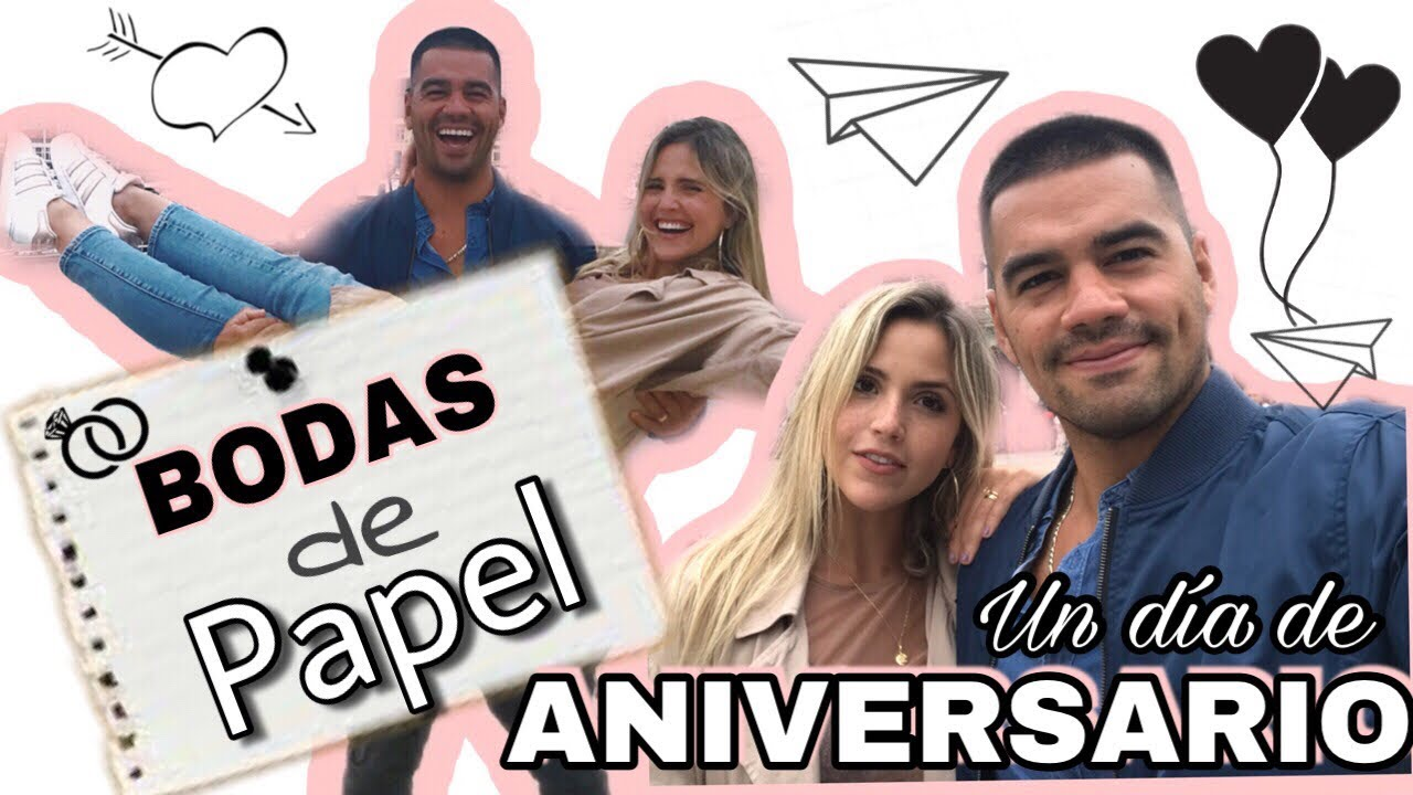 1er Aniversario De Casado Las Bodas De Papel 2018
