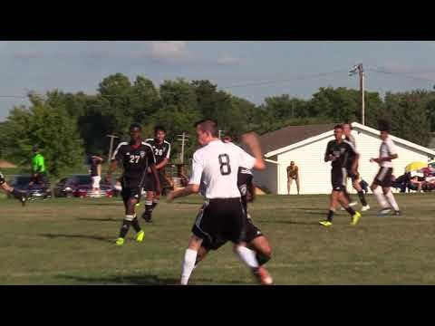Soccer: Kewanee vs. Peoria High (First Half Highlights)