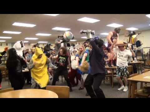 Washington High School Staff Harlem Shake