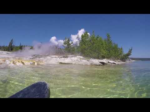 Yellowstone Lake West Thumb Geyser Basin Canoe Tour