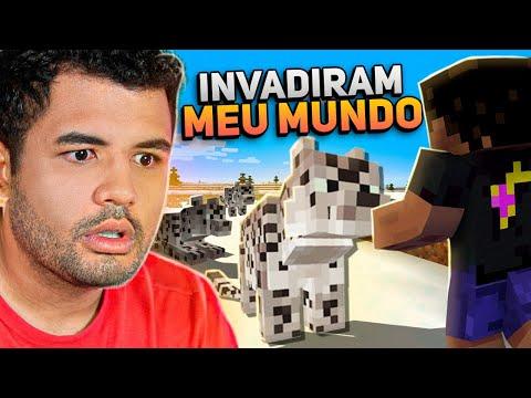 LEOPARDOS INVADIRAM O NOSSO MUNDO!!! - MINECRAFT S02 #49