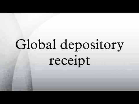 Global depository receipt