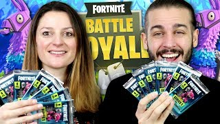 PACK OPENING PANINI FORTNITE ! | BOOSTERS FORTNITE SERIES 1