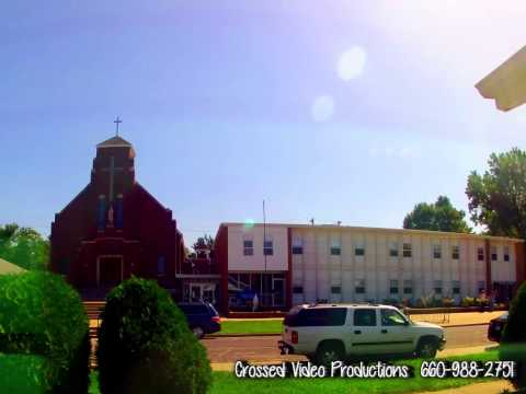 Mary Immaculate Catholic Church - Kirksville Missouri Time Lapse