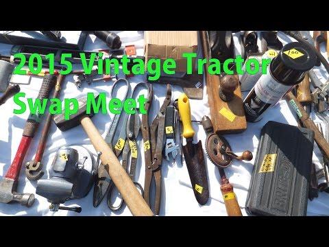 Visiting a Tool Swap Meet - a woodworkweb video