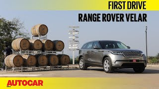 Range Rover Velar | First Drive | Autocar India