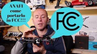 PARROT ANAFI TUTORIAL PER PORTARLO IN FCC...ITA