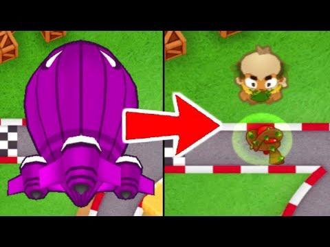 Druid Monkey One Shot EVERYTHING Glitch! (Bloons TD 6)