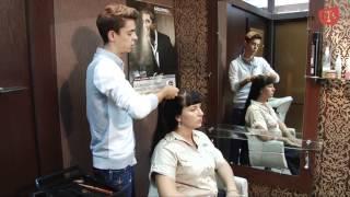 видео Свадебные прически с челкой