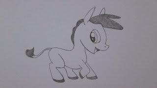 Como desenhar um burro