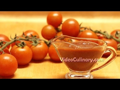 Homemade Tomato Ketchup Recipe - Video Culinary