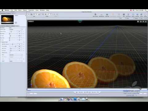 69. New in Apple Motion 4 - Depth of field - Persian