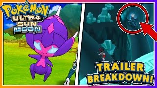 Pokémon Ultra Sun & Ultra Moon - TRAILER BREAKDOWN: NEW ULTRA BEAST + NEW ULTRA SPACE DETAILS!