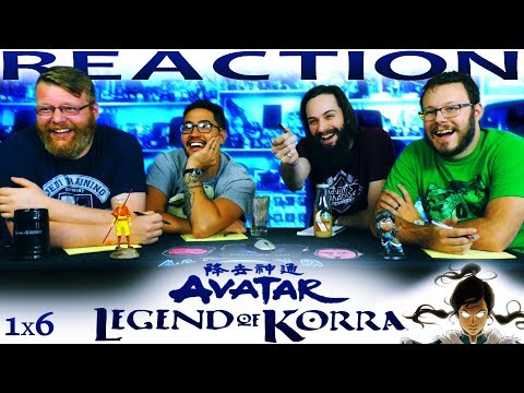 """Legend of Korra 1x6 REACTION!! """"And the Winner Is..."""""""