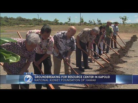 National Kidney Foundation breaks ground on resource center in Kapolei