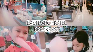Review Hotel Eastparc Breakfast COMPLETE