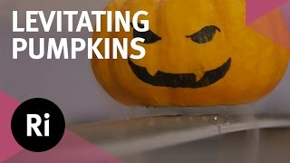 Levitating pumpkins! Halloween science