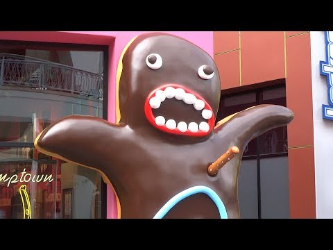 Voodoo Doughnut opening / interview with owners at Universal CityWalk Hollywood