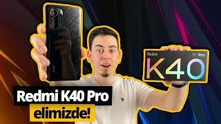 Türkiye'de ilk! Xiaomi Redmi K40 Pro (Mi 11T Pro) kutusundan çıkıyor!