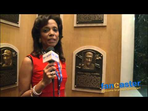 Margaret Stargell at The Unveiling of The Willie Stargell Postage Stamp