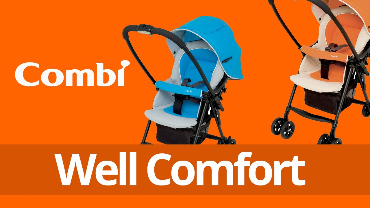 Combi Well Comfort Stroller - YouTube