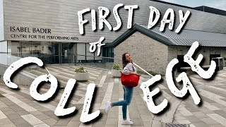 FIRST DAY OF COLLEGE VLOG 2019! (queen's university) | Zoe Maya