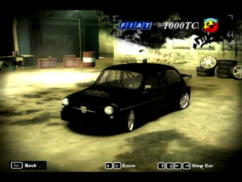 Need For Speed Most Wanted Fastest Car Fiat Abarth