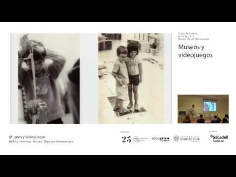 Museos y videojuegos / Rufino Ferreras, Museo Thyssen-Bornemisza