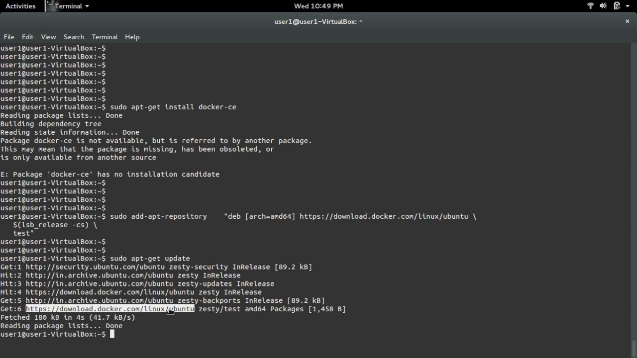 install docker ubuntu disco
