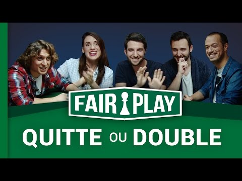QUITTE OU DOUBLE avec Natoo, McFly, Carlito & Julien Pestel ! FAIRPLAY