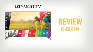 SMART TV LG 43 WebOS BUEN PRECIO - 43LJ594V - #LGSmartv