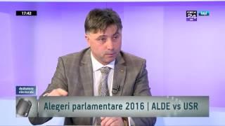 Lucian Viziteu (USR Bacau) vs Viorel Ilie (ALDE Iasi) - 29 nov 16