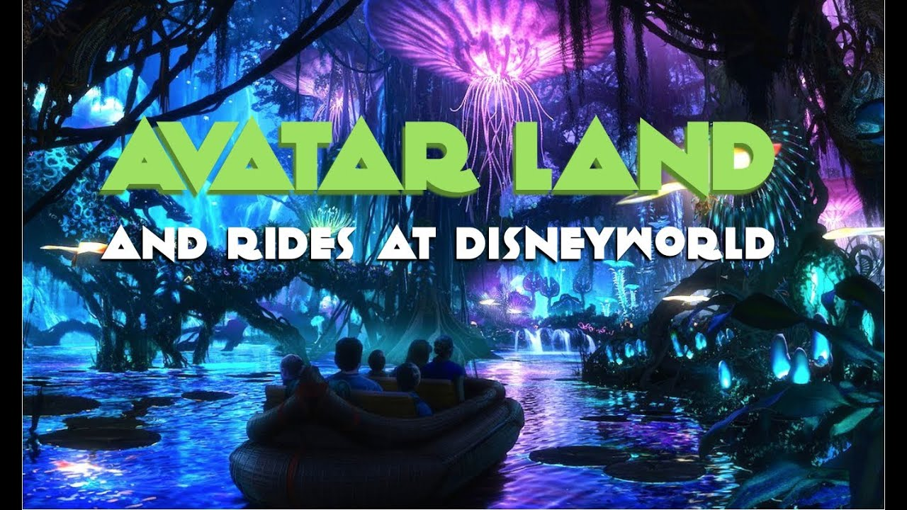 Avatar Land And Rides At Disneyworld Animal Kingdom