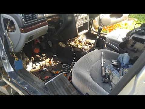 Замена радиатора отопителя Пежо 406, так чтобы поржать