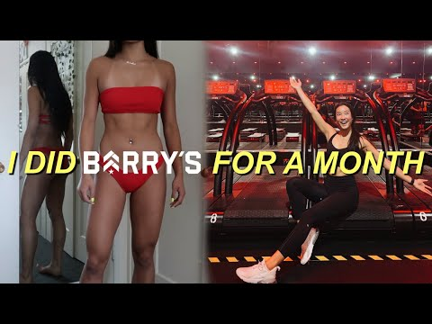 I DID BARRY'S BOOTCAMP FOR 31 DAYS (and this is what happened...)