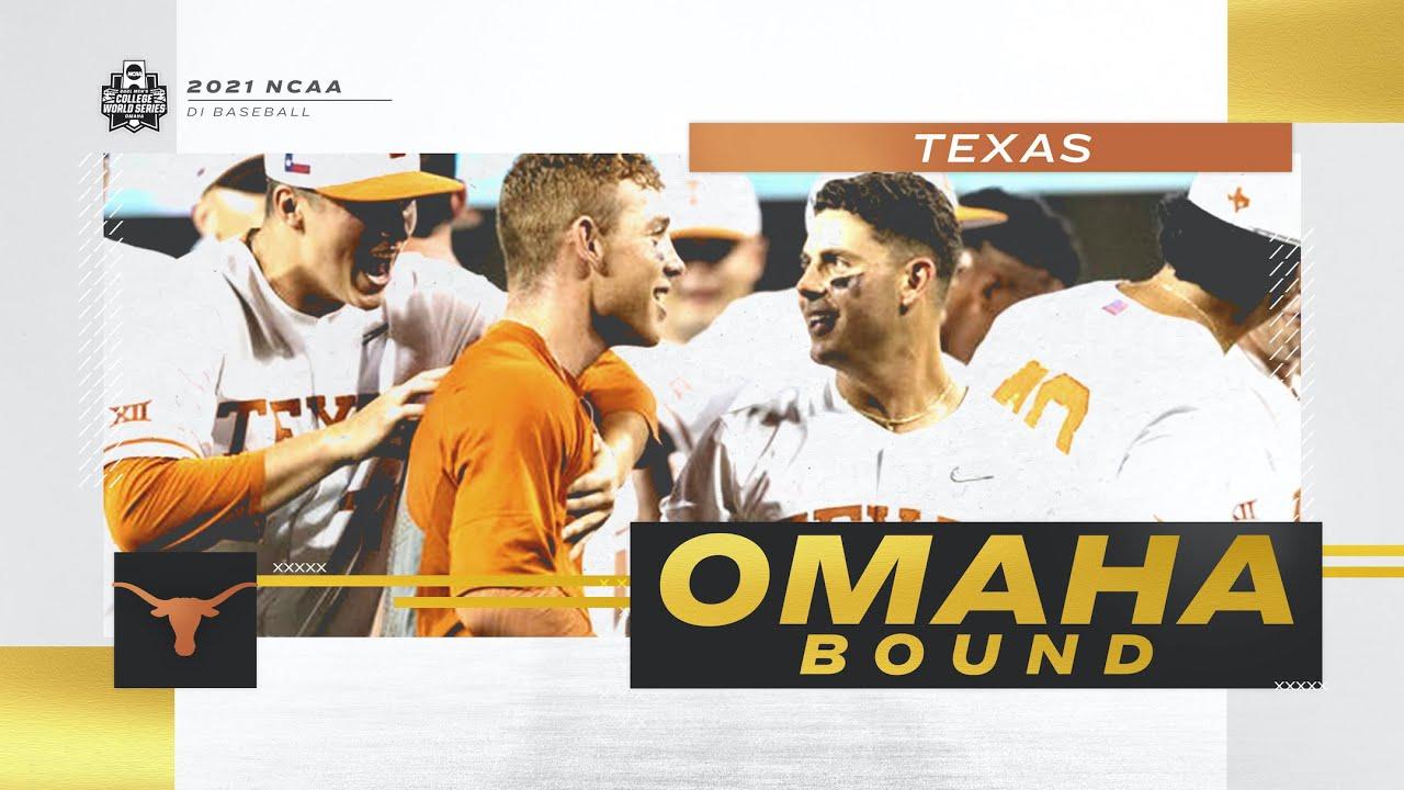 To Omaha: Texas Longhorns Baseball Team Advances to College ...