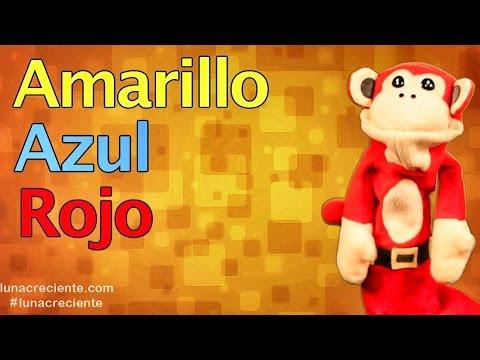 La Cancion de Los Colores con El Mono Silabo | Videos para Niños
