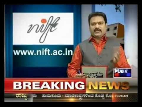 National institute Of Fashion Technology, Bangalore  Program in Public TV on 1st January